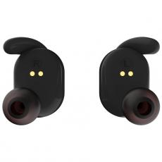 Беспроводные наушники Elari NanoPods, с микрофоном, черные, фото 3