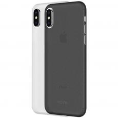 Набор из двух чехлов Incipio Feather Light для iPhone X/Xs, поликарбонат, чёрный / белый, фото 1