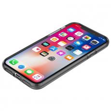 Чехол Incipio Octane Pure для iPhone X, прозрачный черный, IPH-1638-SMK, фото 4