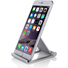 Подставка Seenda Metal Stand Desktop Mount Holder для iPhone/iPad mini, серебристый, фото 3