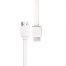 Кабель PROLINK HDMI High speed (2.0) with Ethernet, (AM-AM), 1,5м., плоский, белый, фото 1