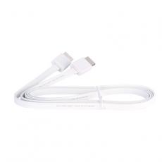 Кабель PROLINK HDMI High speed (2.0) with Ethernet, (AM-AM), 1,5м., плоский, белый, фото 3
