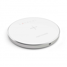 Беспроводное зарядное устройство Satechi Wireless Charging Qi, серебристый, фото 1