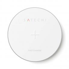 Беспроводное зарядное устройство Satechi Wireless Charging Pad (серебристый), фото 2