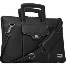 """Сумка кожаная Urbano Compact Brief для MacBook Pro 13"""" с Touch Bar, черный, фото 1"""