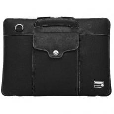 """Чехол-портфель кожаный Urbano для MacBook Air 13"""", черный, фото 1"""