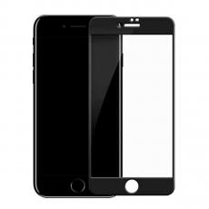 Защитное стекло на весь экран Goldspin 2.5 D для iPhone 8/7, 0.3mm, черное, фото 1