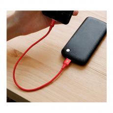 Кабель Baseus Rapid Series, с USB-A на USB-C, 25 см, с подсветкой коннектора, красный, фото 2