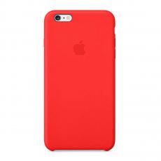Кожаный чехол Apple Leather Case для iPhone 6/6s, красный, фото 1