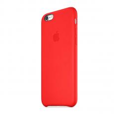 Кожаный чехол Apple Leather Case для iPhone 6/6s, красный, фото 2
