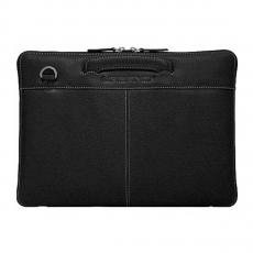 "Сумка кожаная Urbano Compact Brief для MacBook Pro 15"" с Touch Bar, черная, фото 3"