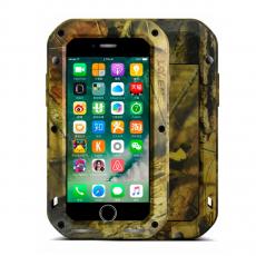 Чехол защитный Love Mei Camo Series для iPhone 7 и 8, коричневый, фото 1