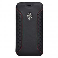 Чехол-книжка Ferrari F12 для iPhone 6/6S Plus, черный, фото 1