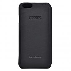 Чехол-книжка Ferrari F12 для iPhone 6/6S Plus, черный, фото 2