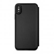 Чехол кожаный BMW Signature Logo imprint для iPhone X, черный, фото 2