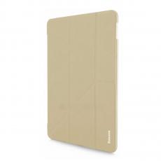 Чехол кожаный Baseus Simplism Y-Type для iPad Pro 10.5, бежевый, фото 1