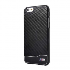 Чехол BMW M-Collection Alumin&Carb для iPhone 6/6S, черный, фото 1