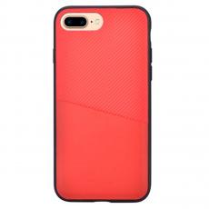 Чехол-накладка Devia iWallet для iPhone 7/8 Plus, красный, фото 1