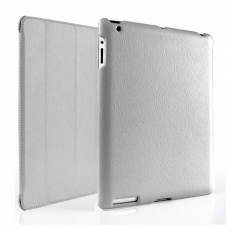 Чехол Jison Smart для Apple iPad 3, серый, фото 1