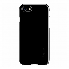 Чехол Spigen Thin Fit для iPhone 7 и 8, ультра-черный, фото 1