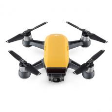 Миниатюрный квадрокоптер DJI Spark Sunrise Yellow, с камерой, фото 2