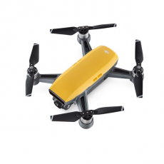 Миниатюрный квадрокоптер DJI Spark Sunrise Yellow, с камерой, фото 3