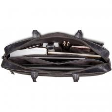"""Сумка кожаная DBramante1928 Amalienborg для ноутбука 16"""", черный, фото 2"""