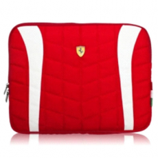 "Сумка Ferrari Computer Sleeve Scuderia для MacBook Air 11"", красная, фото 1"
