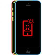 Замена передней камеры/восстановление работоспособности датчика отключения дисплея iPhone 5C, фото 1