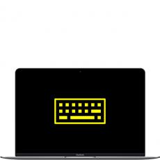 """Ремонт подсветки клавиатуры MacBook 12"""", фото 1"""
