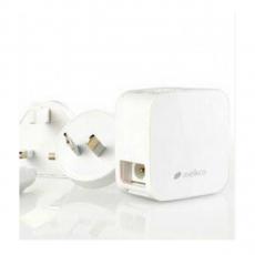 Сетевое зарядное устройство Melkco Traveller Chargers, 2 USB-A, белый, фото 1
