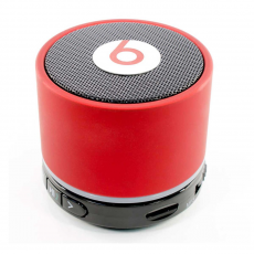 Портативная колонка Beats Monster louderspeaker box bluetooth, красная, фото 1