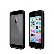 Бампер Colorant Bumper B1S для iPhone 5,5S и SE, чёрный, фото 1