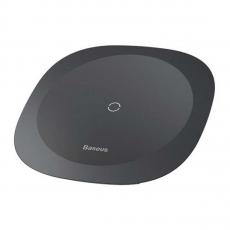 Беспроводное зарядное устройство Baseus Square-circle Wireless Charger, черное, фото 1