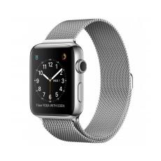 Браслет стальной, миланский сетчатый для Apple Watch 38mm, серебряный, фото 1