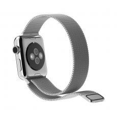 Браслет стальной, миланский сетчатый для Apple Watch 38mm, серебряный, фото 2