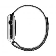 Браслет стальной, миланский сетчатый для Apple Watch 38mm, серебряный, фото 3