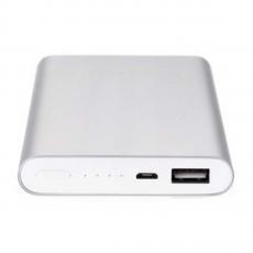Внешний аккумулятор Xiaomi Mi Power Bank 2, 10000 мАч, 2USB (2018), серебристый, фото 1