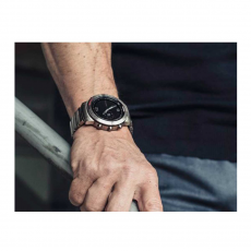 Мультиспортивные часы Garmin Fenix Chronos с титановым браслетом, серебряные, фото 3