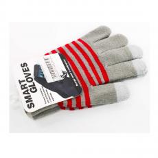 Перчатки для сенсорных экранов Touch gloves, style-4, серые, фото 1