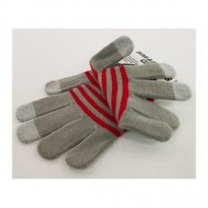 Перчатки для сенсорных экранов Touch gloves, style-4, серые, фото 2