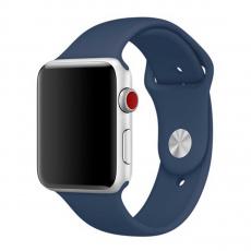 Ремешок Apple для Apple Watch 42 мм, тёмный кобальт, фото 1