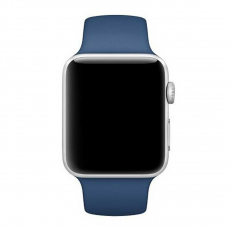 Ремешок Apple спортивный для Apple Watch 42 мм, SM/ML, оригинал, голубой океан, фото 1