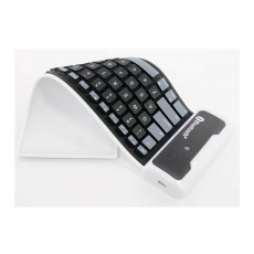 Силиконовая клавиатура, черная, фото 2