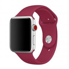 Спортивный ремешок Apple для Appla Watch 38 мм, красная роза, фото 1