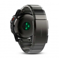 Умные-часы Garmin Fenix 5x sapphire c GPS, серые с металлическим браслетом, фото 3