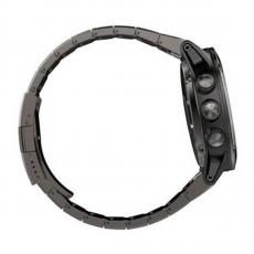 Умные-часы Garmin Fenix 5x sapphire c GPS, серые с металлическим браслетом, фото 4