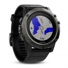 Умные-часы Garmin Fenix 5x sapphire c GPS, серые, фото 1