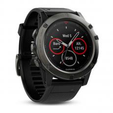 Умные-часы Garmin Fenix 5x sapphire c GPS, серые, фото 2
