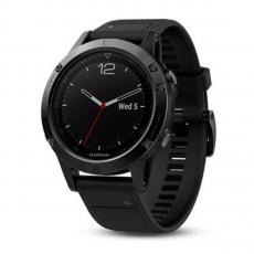 Умные-часы Garmin Fenix 5 sapphire c GPS, черные, фото 1